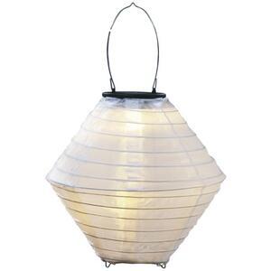IDEENWELT Solar-Lampion weiß