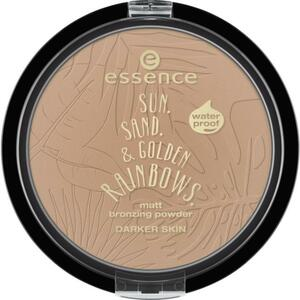 essence sun. sand. & golden rainbows. matt bronzing po 25.00 EUR/100 g