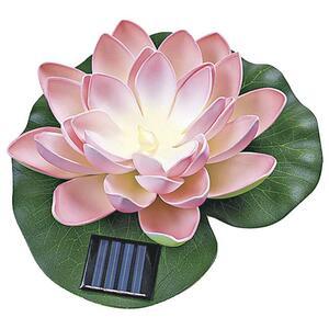 IDEENWELT Solar-Seerose rosa