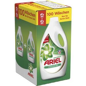Ariel Universal Flüssigwaschmittel Strahlend Rein 100WL 0.20 EUR/1 WL