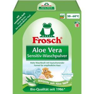 Frosch Aloe Vera Sensitiv-Waschpulver 18 WL 0.22 EUR/1 WL