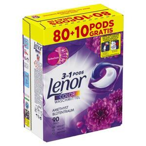 Lenor 3in1 Pods Colorwaschmittel Amethyst Blütentraum, 9 0.22 EUR/1 WL
