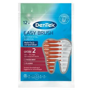 DenTek Easy Brush Interdental-Bürstchen Größe 2