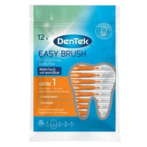 DenTek Easy Brush Interdental-Bürstchen Größe 1