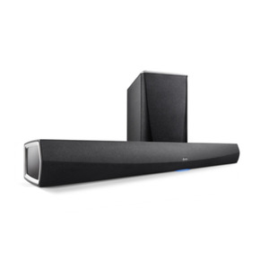 Denon HEOS HomeCinema HS2 wireless Soundbar mit Subwoofer - Schwarz