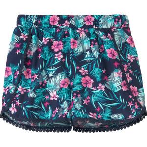 Mädchen Shorts mit Pompon-Bordüre