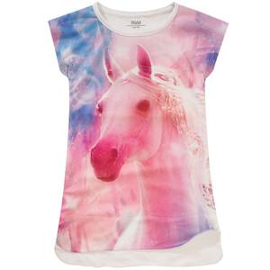 Mädchen T-Shirt mit Foto-Print