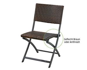 GARDENLINE®  Geflecht-Klappstuhl