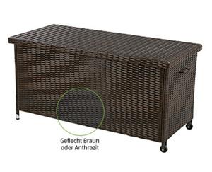GARDENLINE®  Geflecht-Kissenbox
