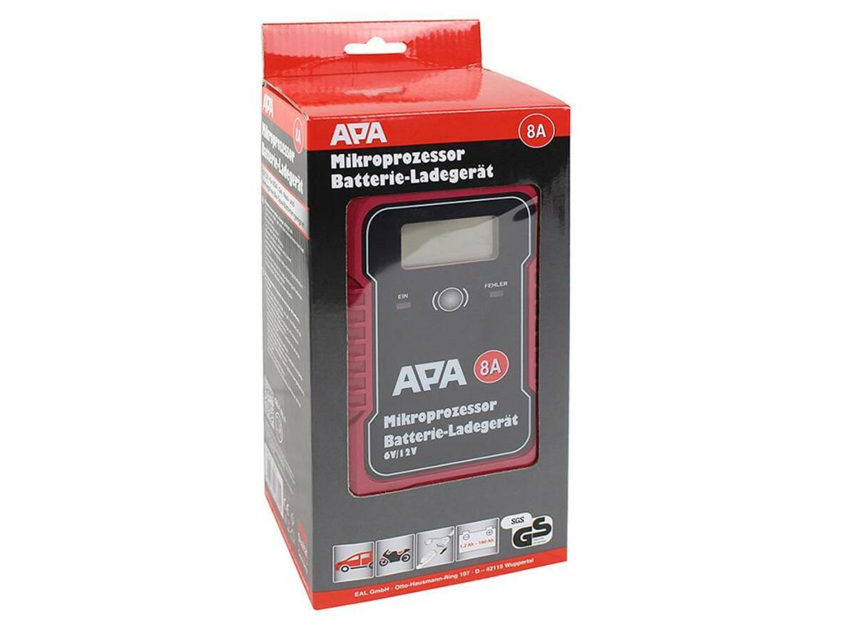 Bild 4 von APA Mikroprozessor Batterie-Ladegerät 6/12V 8A
