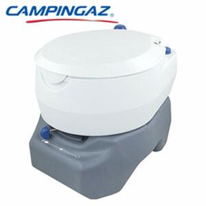 Antimikrobielle Toilette Inhalt Wassertank: ca. 16 Liter, Inhalt Abfalltank: ca. 20 Liter, Antimikrobielle Behandlung von Sitz und Schüssel, breiter Sitz für mehr Komfort, max. Belastbarkeit: 130 k