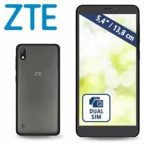 Smartphone Blade™ A530 · 2 Kameras (13 MP/8 MP) · 2-GB-RAM, bis zu 16-GB interner Speicher  · microSD™-Slot bis zu 128 GB · Android™ 8.0 · nano SIM