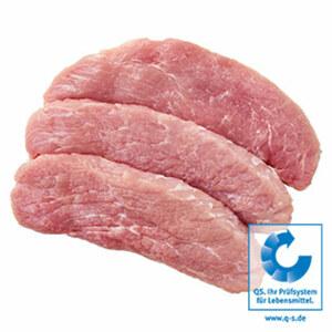 Frische Schweinesteaks aus der Oberschale/Hüfte, natur oder mariniert, je 1 kg