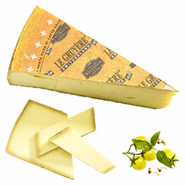 Kaltbach Le Gruyère Schweizer Hartkäse mit Rohmilch hergstellt, 49 % Fett i. Tr., je 100 g