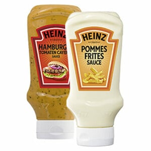 Heinz Snack Saucen versch. Sorten jede 400-ml-Flasche