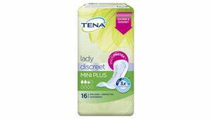 TENA LADY Discreet Mini Plus Hygieneeinlagen 16 Stück