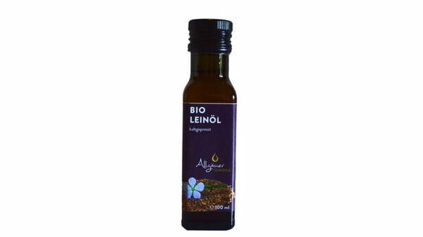 Allgäuer Ölmühle Bio Leinöl