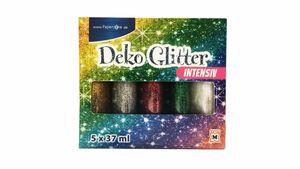 PAPERZONE Deko Glitterleim intensiv