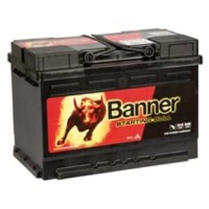 Banner Starting Bull Autobatterie, 57212, 72 Ah, 650 A