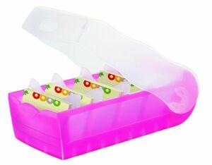 Karteikartenbox A8 in pink