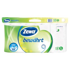 Zewa Toilettenpapier bewährt weiß 16x150