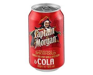 Captain Morgan™ Original Spiced Gold & Cola