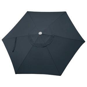 LINDÖJA                                Stoffüberzug Sonnenschirm, dunkelblau, 300 cm