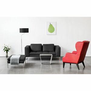 home24 Sofa Madison (2-Sitzer) Echtleder