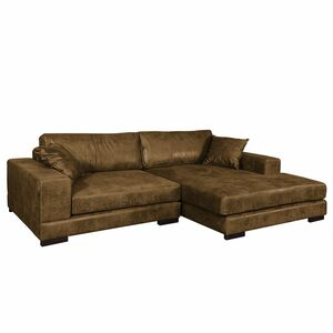 home24 Ecksofa Mandor Antiklederlook