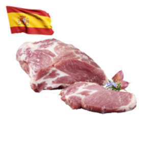 Frischer Iberischer Duroc Schweinenacken