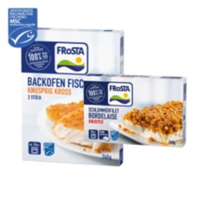 Frosta Schlemmerfilet, Pfannenfisch, Küstenfrikadelle oder Backofenfisch