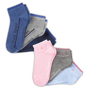 Bruno Banani Sneaker-Socken 3 Paar