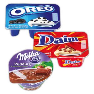 Milka/Daim/Oreo Joghurt / Pudding