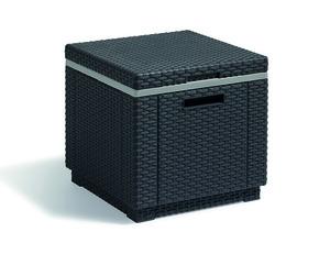Allibert ICE-Cube Kühlbox, graphit, 42cm x 38cm, 213323