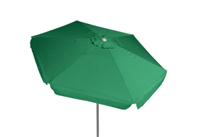Merxx Sonnenschirm Gartenschirm Marktschirm Ampelschirm Schirm 270 cm grün mit Kurbel; 29054-314