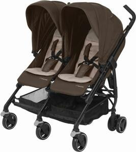 Maxi-Cosi Zwillingsbuggy Dana for 2 Nomad Brown
