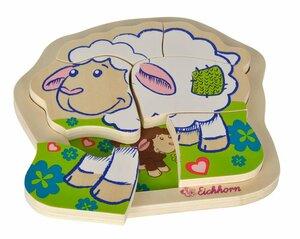 Eichhorn Einlegepuzzle Schaf 6-teilig