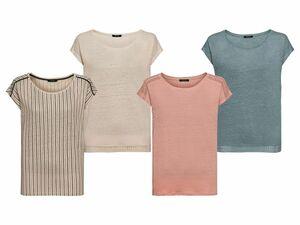 ESMARA® Damen Leinen-Shirt