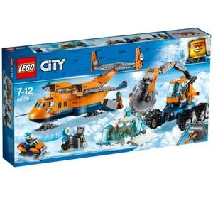 LEGO City - 60196 Arktis-Versorgungsflugzeug