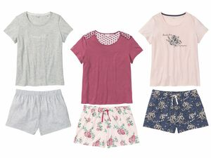 ESMARA® Lingerie Damen Sommer-Pyjama