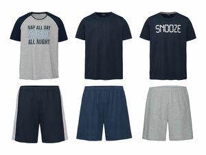 LIVERGY® Herren Sommer-Pyjama
