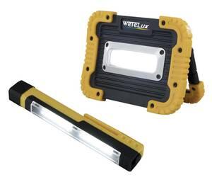 COB LED Worklight + Gratis Inspektionsleuchte Wetelux