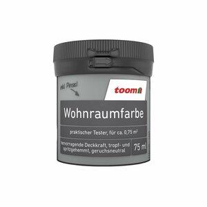 toomEigenmarken -              toom Wohnraumfarbe 'Betongrau' 75 ml Tester matt