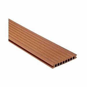 Terrassendiele 'Artwood Classic' WPC marone 300 x 14,5 x 2,1 cm