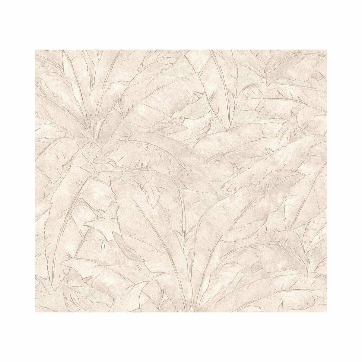 Bild 1 von AS_Creation -             A.S. Création Vliestapete Metropolitan Stories 'Francesca' Milano, Blätter beige 10,05 x 0,53 m