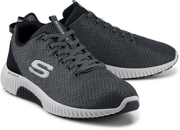 Skechers Herren Sneaker Gr. 44 Leder einmal getragen Farbe
