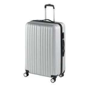 Koffer in silber (Größe L)