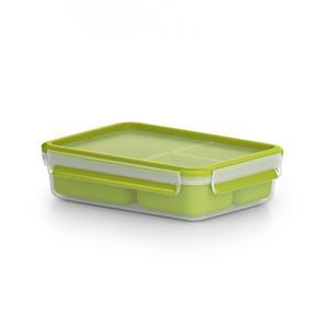 Snackbox Clip & Go in grün (0,55 Liter)