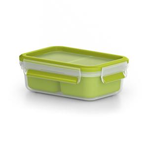 Snackbox Clip & Go in grün (1 Liter)