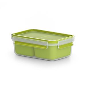 Snackbox Clip & Go in grün (1,2 Liter)